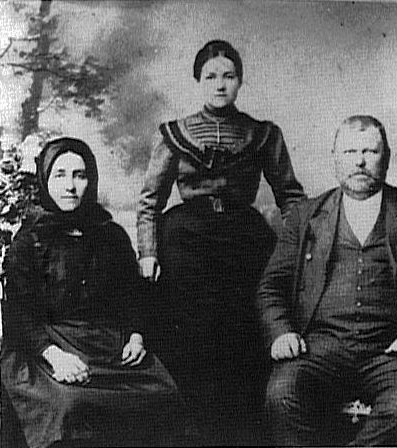 Bering Family & Mrs./Miss Potje - House #241<br> Click to enlarge